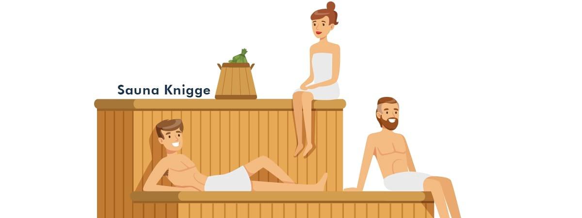 Der richtiges sauna in verhalten Richtiges Verhalten