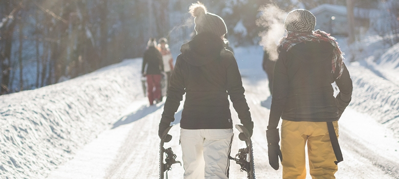Schneeschuhwandern in Südtirol