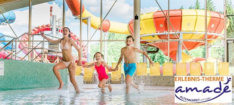 Spaß für Kinder in der Therme Amadé