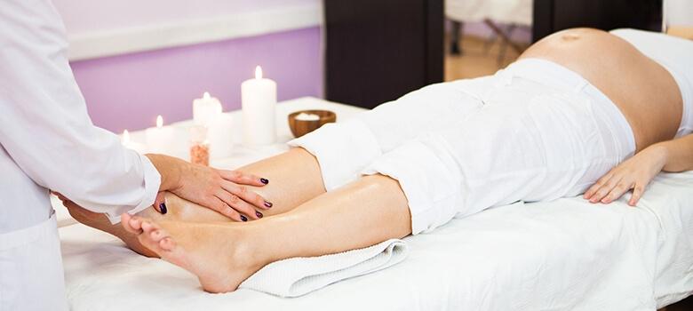 Fußmassage in der Schwangerschaft