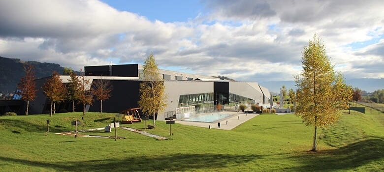 Therme Fohnsdorf im Herbst